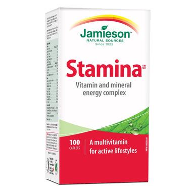 Jamieson Stamina Vitamin & Mineral Energy Lift