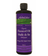 Herbal Select Organic Flaxseed Oil Liquid