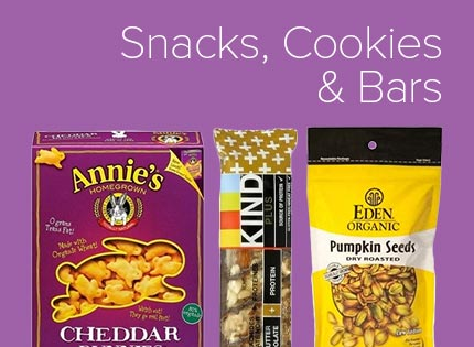 Snacks, Cookies & Bars