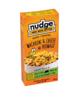 Nudge Elbows and Orange Cheddar Mac & Cheese