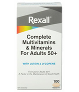 Rexall Complete Multivitamins & Minerals for Adults 50+