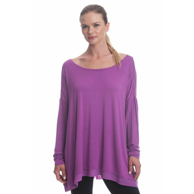 Gaiam Nirvana Tunic Striking Purple Heather