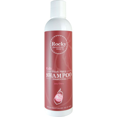 Rocky Mountain Soap Co. Kids Juicy Cherry Natural Shampoo