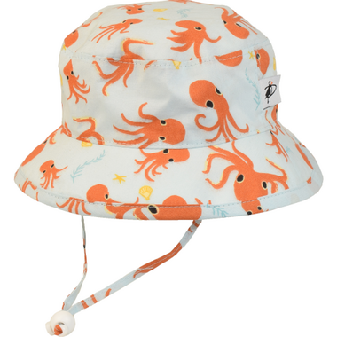 Puffin Gear Camp Hat Octopus