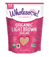 Wholesome Sweeteners Organic Fair-Trade Light Brown Sugar