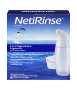 hydraSense NetiRinse 2-in-1 Nasal & Sinus Irrigation Kit