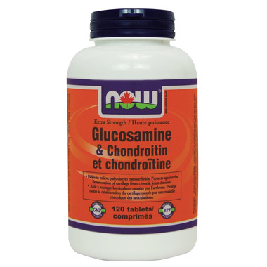 NOW Foods Extra Strength Glucosamine & Chondroitin