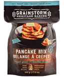 Grainstorm Heritage Baking Organic Ancient Grain Pancake Mix