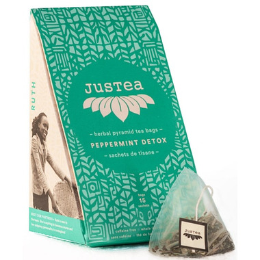JusTea Peppermint Detox Tea