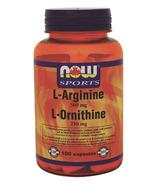 NOW Sports L-Arginine & L-Ornithine