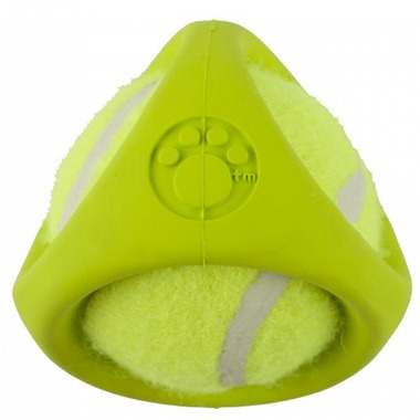 Petprojekt Tennisbal Dog Toy in Green