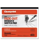 Chartpak Clearprint Isometric Grid Paper Pad