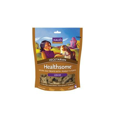 Halo Liv-A-Littles Healthsome Vegetarian Dog Biscuits