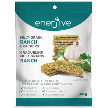 Enerjive Multigrain Crackers Ranch