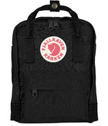Fjallraven Kanken Mini Backpack Black
