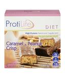 ProtiLife High Protein Caramel & Peanut Crisp Bars
