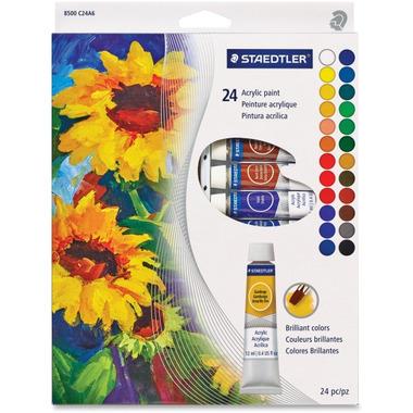 Staedtler Acrylic Paint Tube Set