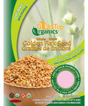 Gold Top Organics Whole Golden Flax Seeds