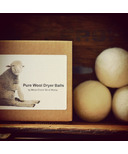 Moss Creek Wool Works Pure Wool Dryer Balls