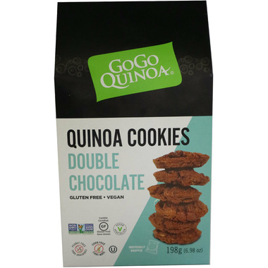 GoGo Quinoa Double Chocolate Quinoa Cookies