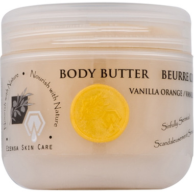 Crate 61 Organics Vanilla Orange Body Butter