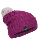 Kombi The Cable Slouch Junior Hat Purple Wine