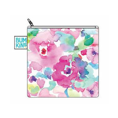 Bumkins Reusable Snack Bag Large Watercolour Flower