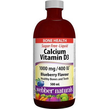 Webber Naturals Calcium Plus Vitamin D Liquid