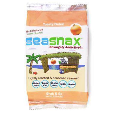 Sea Snax Grab & Go Toasty Onion