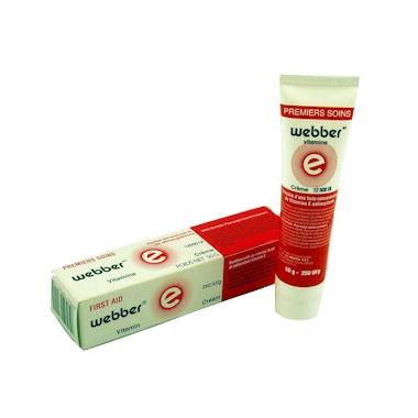 Webber First Aids Vitamin E Cream