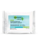 Garnier Clean + Soothing Remover Towelettes