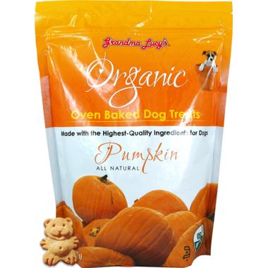 Grandma Lucy\'s Organic Oven Baked Pumpkin Dog Treats
