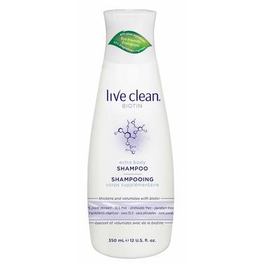 Live Clean Extra Body Biotin Shampoo