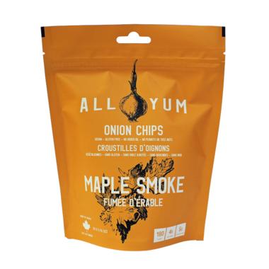 All Yum Onion Chips Maple Smoke