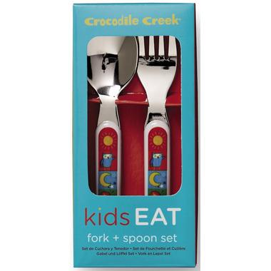 Crocodile Creek Cutlery Set Kids World