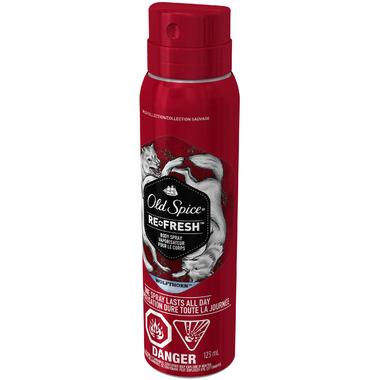 Old Spice Wolfthorn Refresh Body Spray