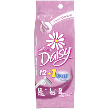 Gillette Daisy Classic Disposable Razors