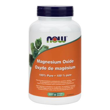 NOW Foods Magnesium Oxide Powder