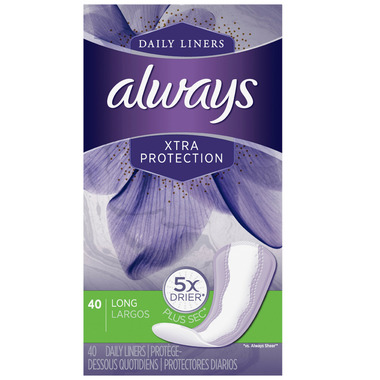 Always Xtra Protection Daily Liners Long