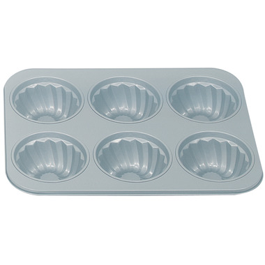 Non-Stick 6-Cup Fluted Muffin Pan