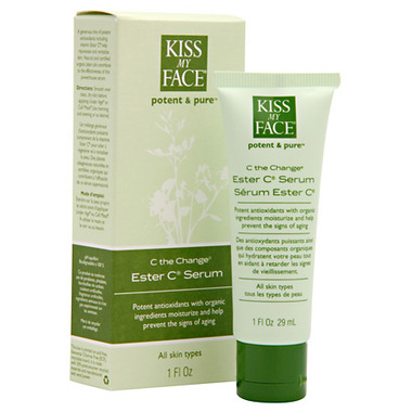 Kiss My Face Potent & Pure C the Change Ester C Serum