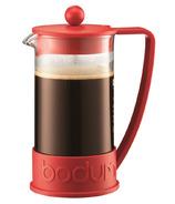 Bodum Brazil French Press Coffee Maker Red