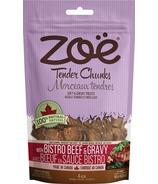 ZoeTender Chunks Bistro Beef and Gravy