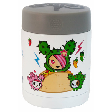 Zoli TokiDINE Insulated Food Jar Taco Sandy
