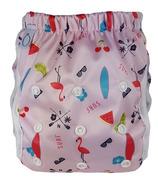 Omaiki One Size Swim Diaper Flamingo