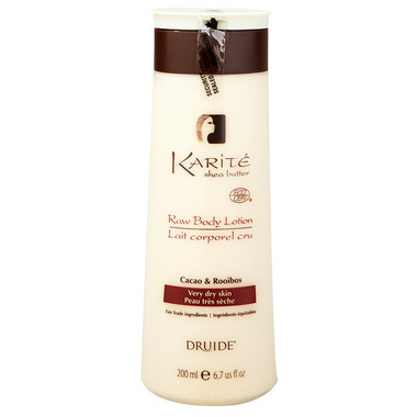 Druide Karite Raw Body Lotion Cacao & Rooibos