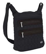 Lug Sidesaddle Cross-Body Bag Midnight Black