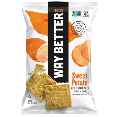 Way Better Snacks Sweet Potato Tortilla Chips