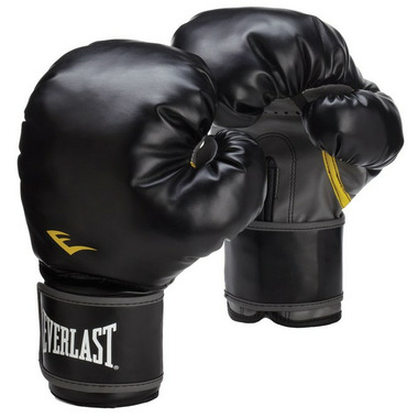 Everlast Classic Black Training Boxing Gloves