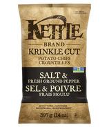 Kettle Krinkle Cut Salt and Fresh Pepper